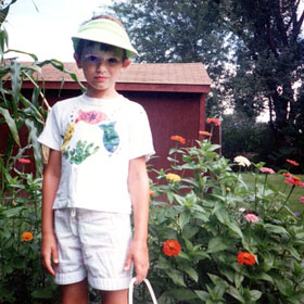 Tom in Little Canada, Minnesota, age 7