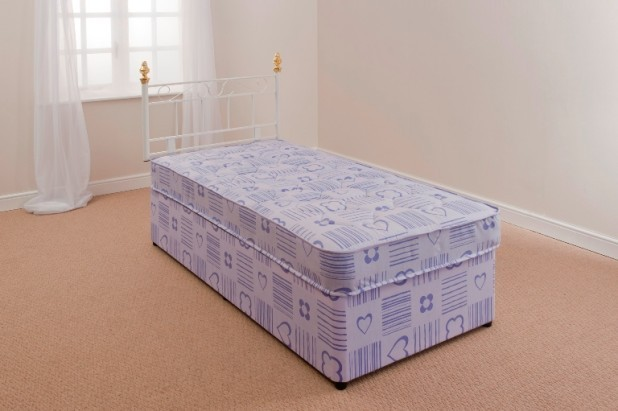 Kids Bed 3ft Single Divan Mattress S