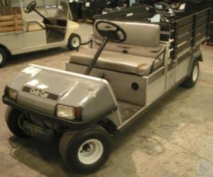 2004 Ingersoll Rand Club Car Carryall 6 Gasoline Utility