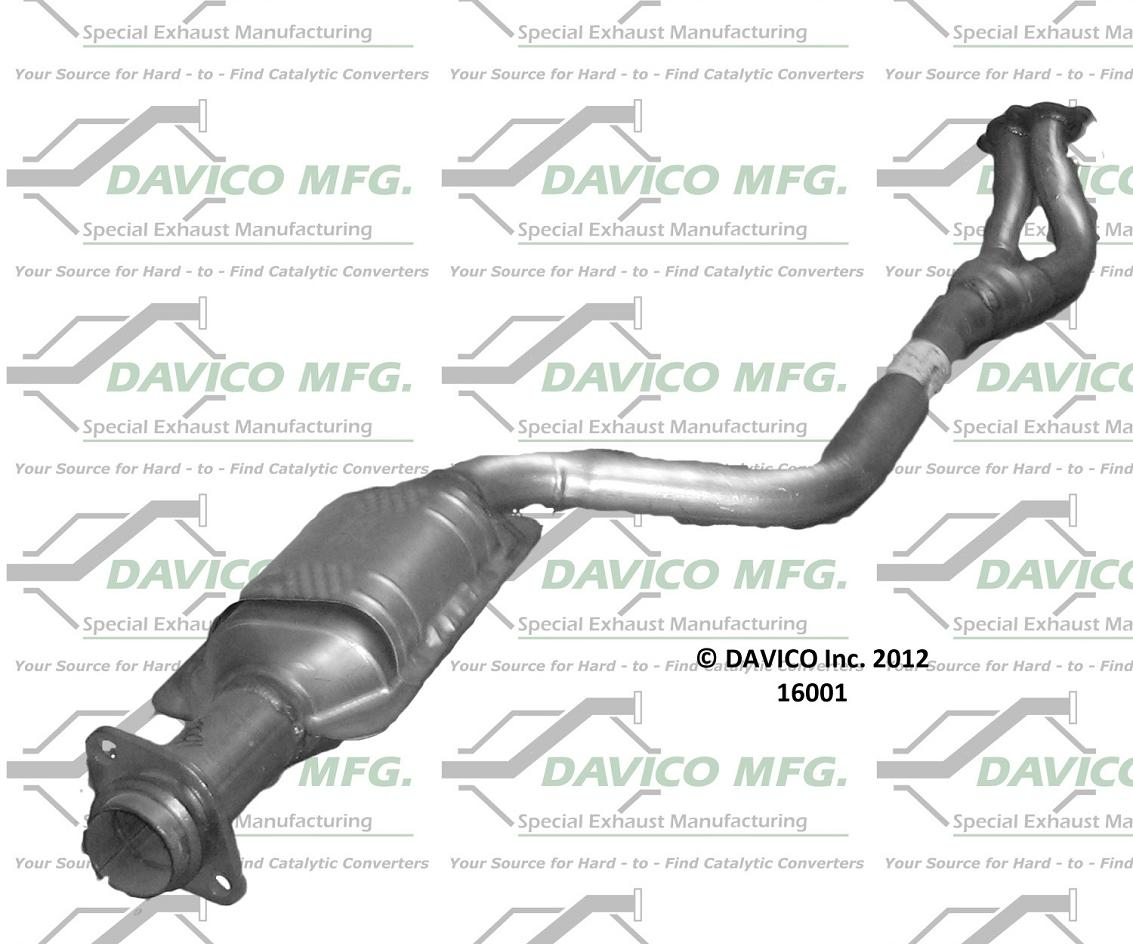 Brand New Catalytic Converter Bmw 318i 318is Direct Fit