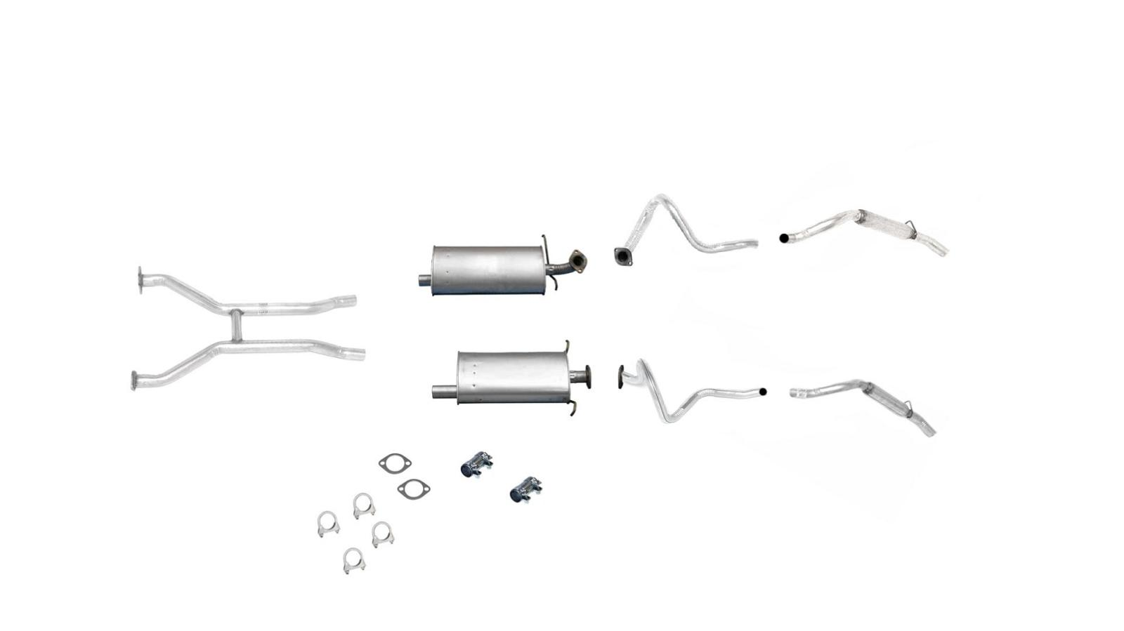 Ford Crown Victoria Muffler Dual Exhaust System