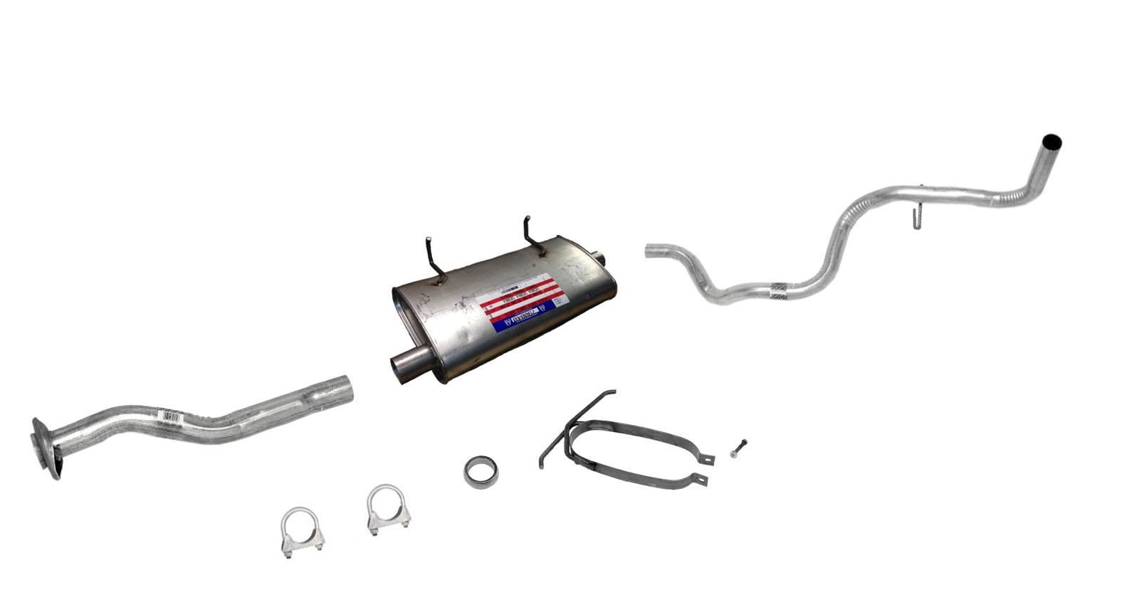 98 00 Ranger 2 5l 3 0l 4 0l 118 Wheel Base Muffler Exhaust