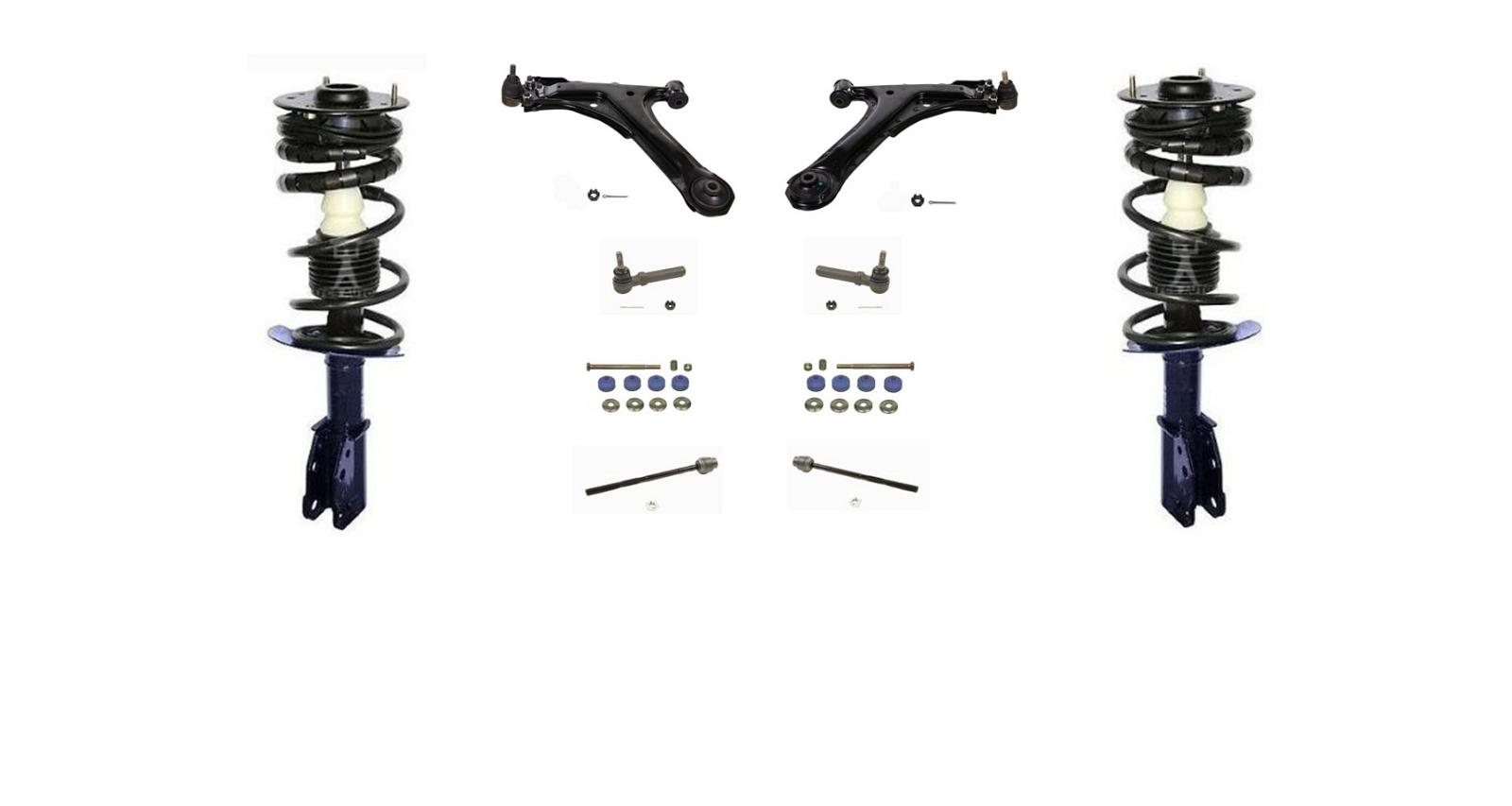 00 05 Cavalier Sunfire Front Quick Spring Strut And Mount Control Arms 10pc Kit