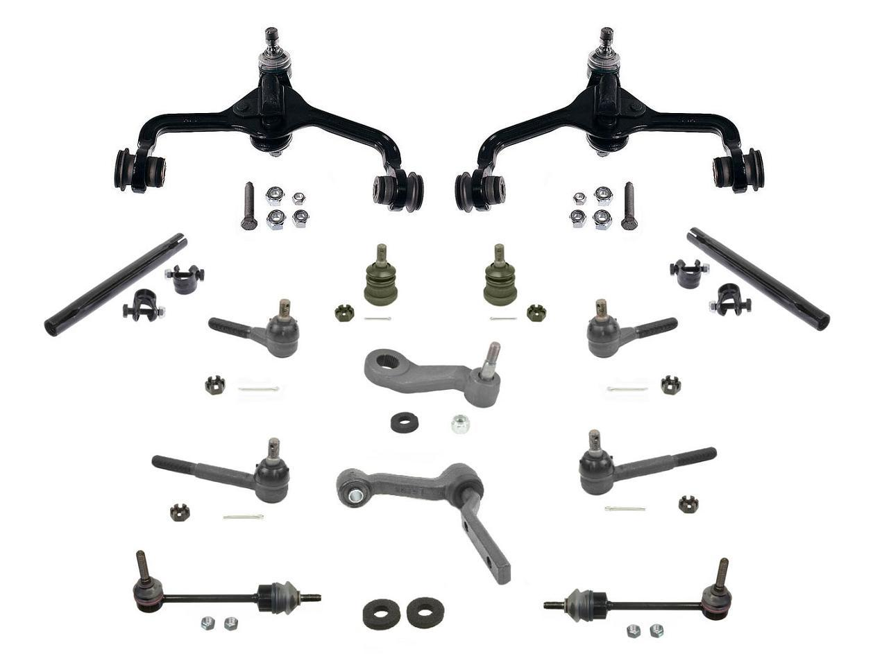 For Town Car 95 97 14pc Chassis Kit Control Arms Bushings