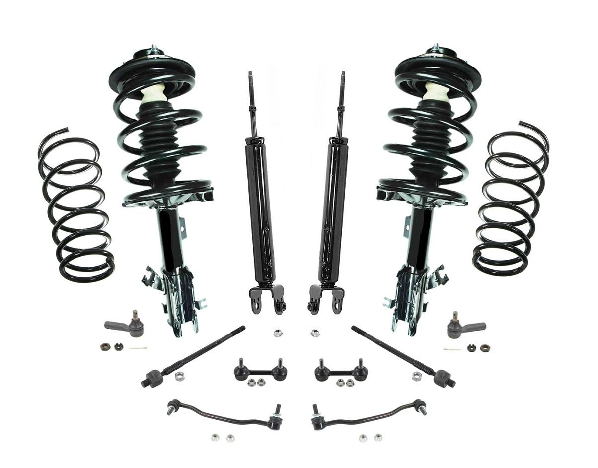 Front Struts Rear Shocks Sway Bar Links Amp Tie Rods For
