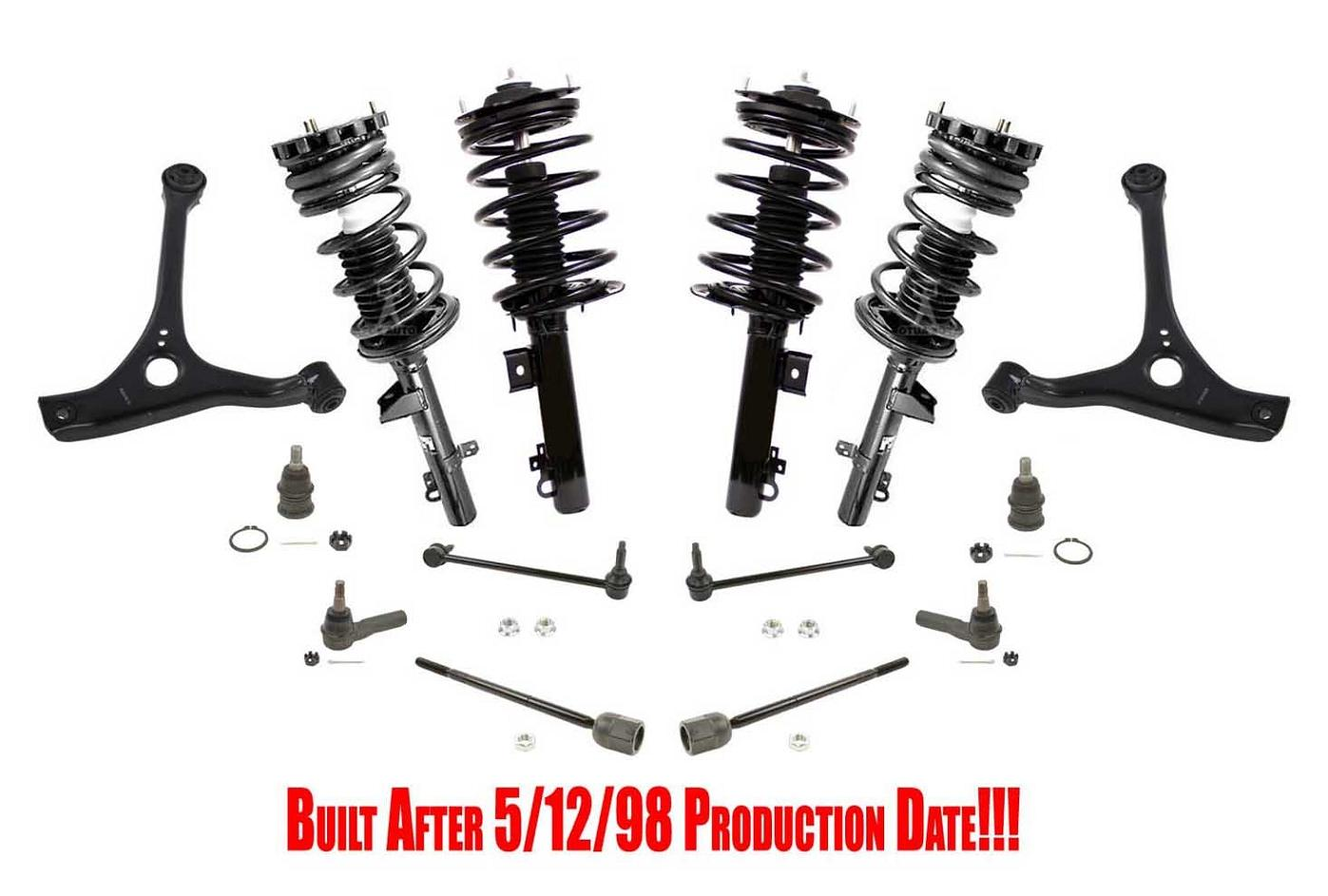 New 16pc Suspension Amp Chassis Kit For Ford Taurus 98 06