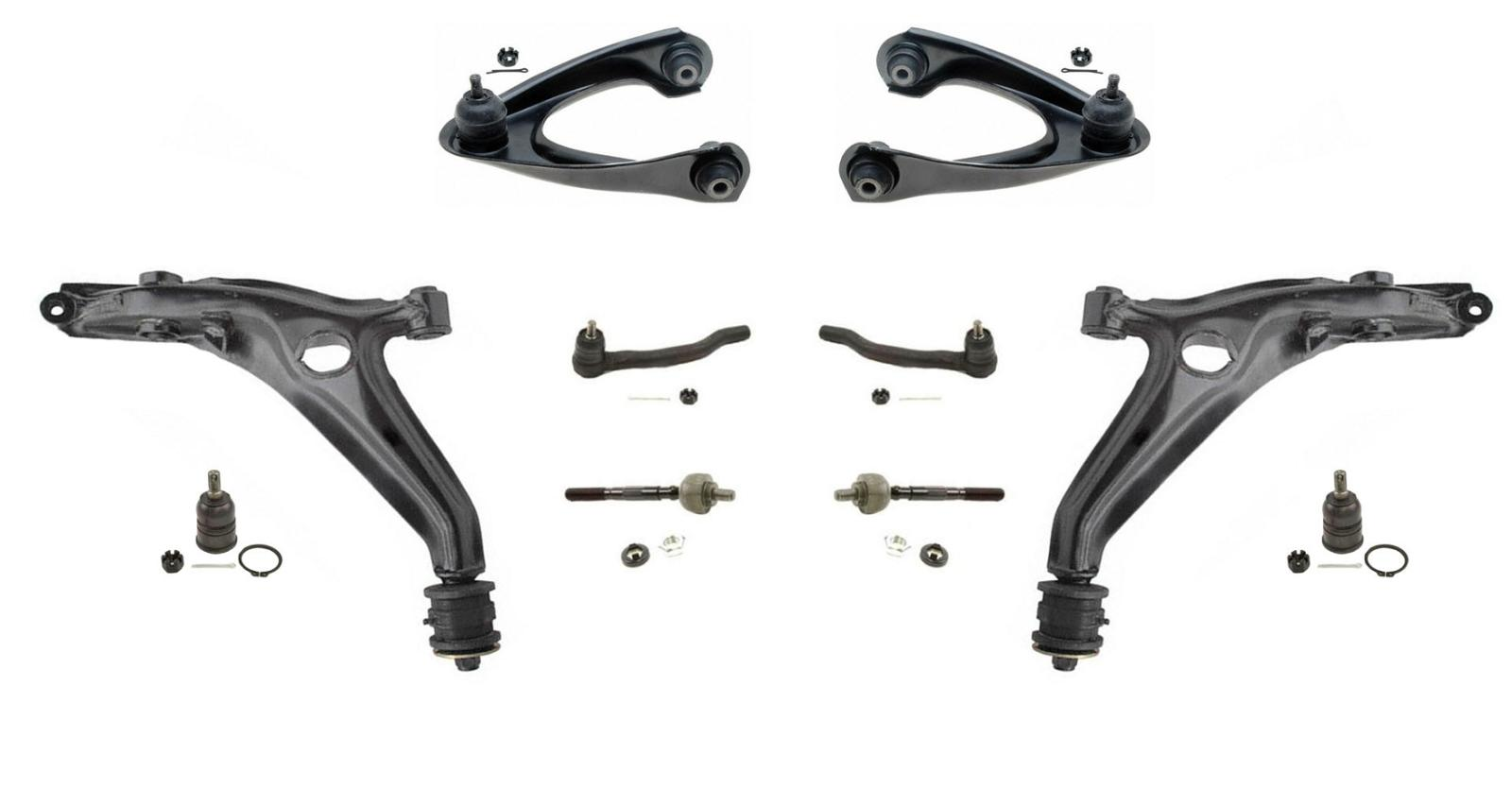96 00 Civic Upper Amp Lower Control Arm With Ball Joints Tie