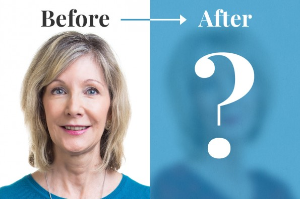 Does Your Age Make You Feel Invisible?  See this Makeover!