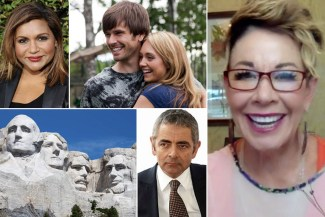 How well do you know these celebrities? mindy kaling, rowan atkinson, heartland, and the presidents of mount rushmore