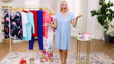 Jaleah showing you how to make 8 outfits out of 8 items