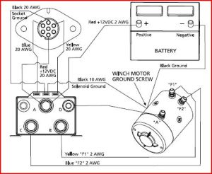 Help with in cab winch control for Superwinch Schematic