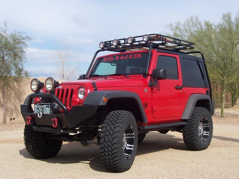 Jeep Jk Gobi Rack Top And Down