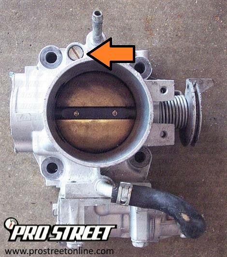 How To Adjust Honda Civic Idle Speed - My Pro Street