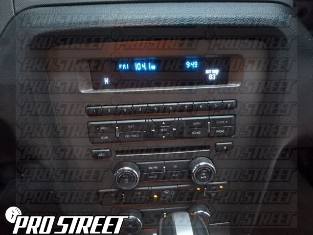 How To Ford Mustang Stereo Wiring Diagram  My Pro Street