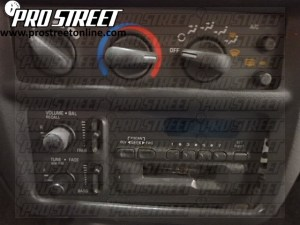 Chevy Cavalier Stereo Wiring Diagram  My Pro Street