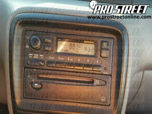 How To Honda CRV Stereo Wiring Diagram  My Pro Street
