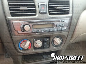Nissan Sentra Stereo Wiring Diagram  My Pro Street