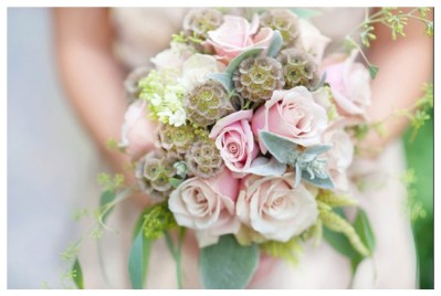Blush bouquet from Holly Heider Chapple