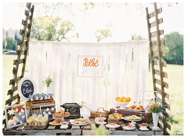 french country vintage baby shower something vintage rentals