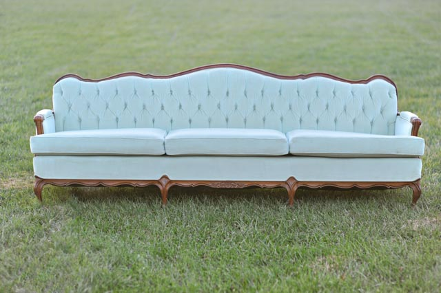 The Natalie Mint Green Sofa