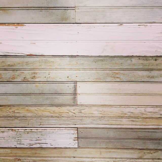 "Our new #reclaimed wood bar had us at ""patina""// Here's a close up of her pretty face. #pretty #reclaimed #salvaged #industrial #dc #aCreativeDC #vintage #reuse #girlboss #vintagerentals #create #build #dcevents"