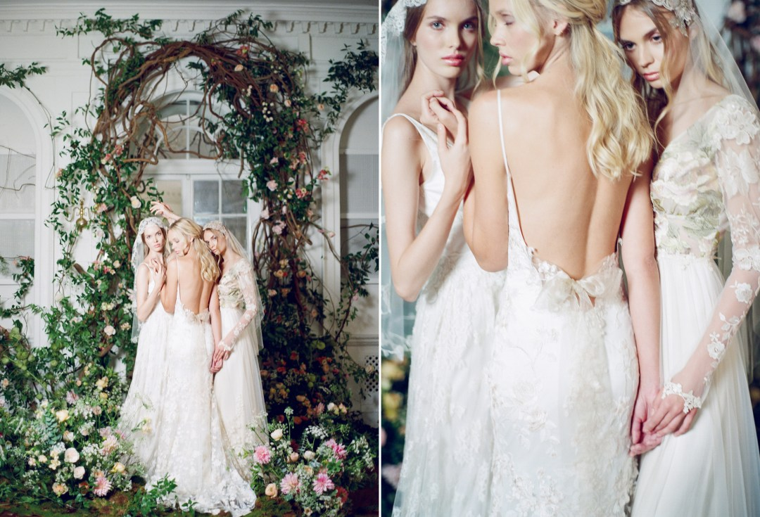 Claire Pettibone Wedding Gown Styled Shoot