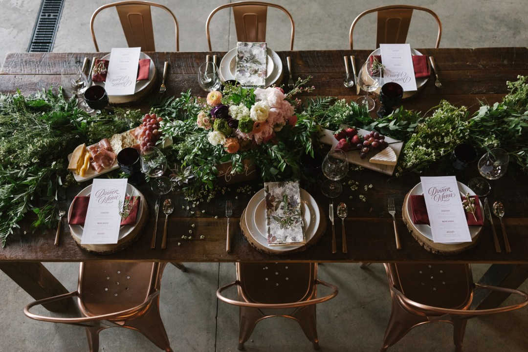 Republic Restoratives Styled Wedding Shoot