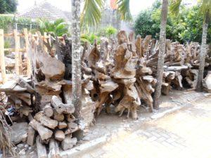 teak root tables