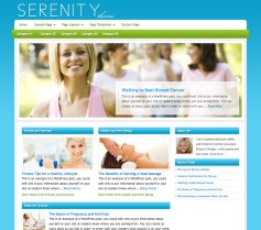 Genesis Child theme Serenity