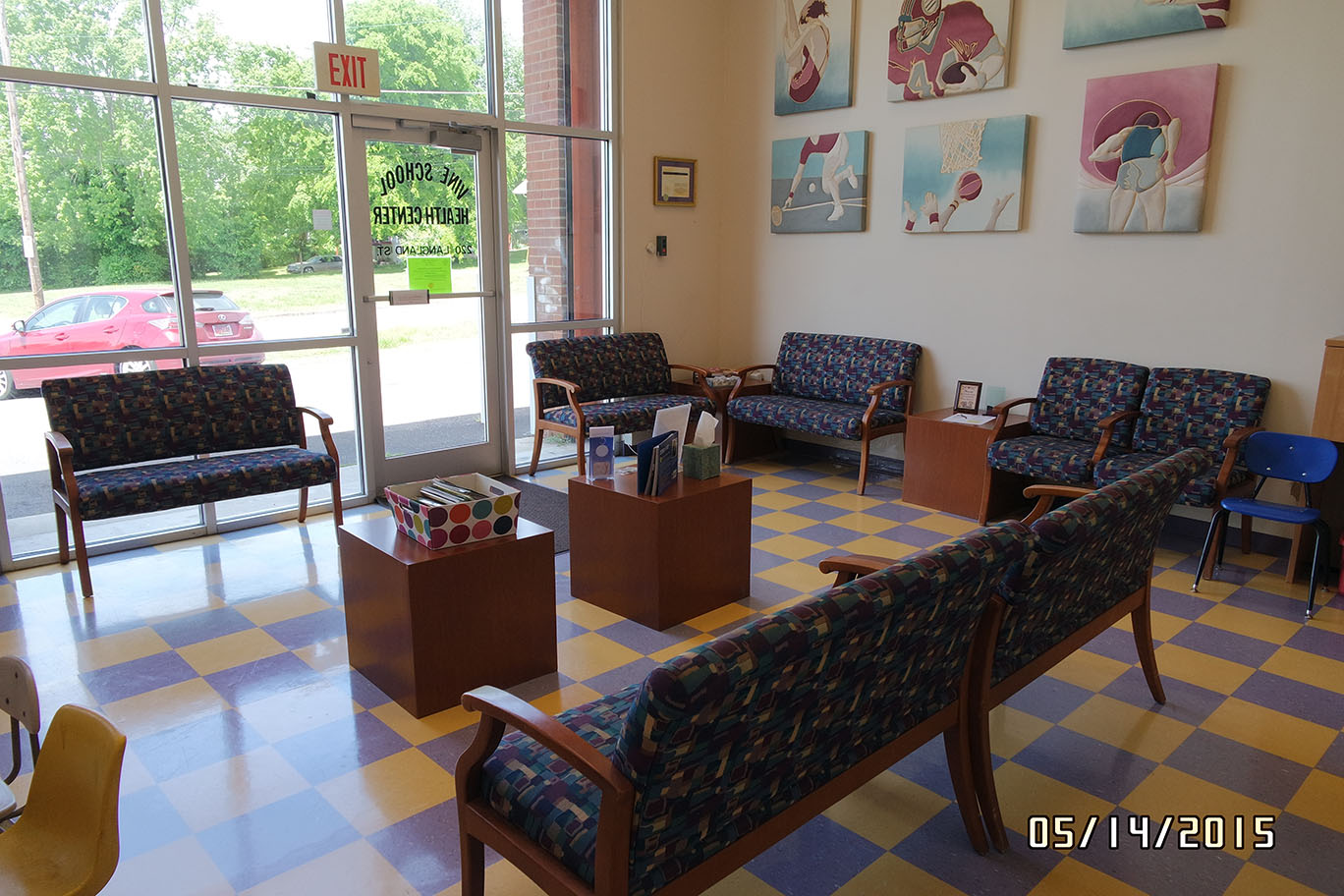 Students Waiting Room