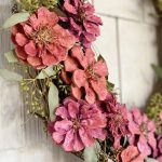 How To Make A Spring Wreath My 100 Year Old Home