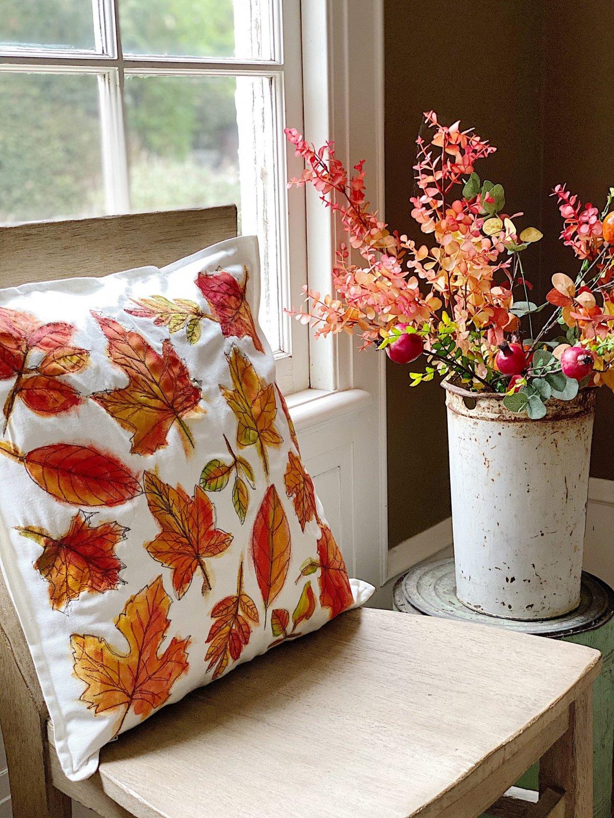 Fall Pillow DIY