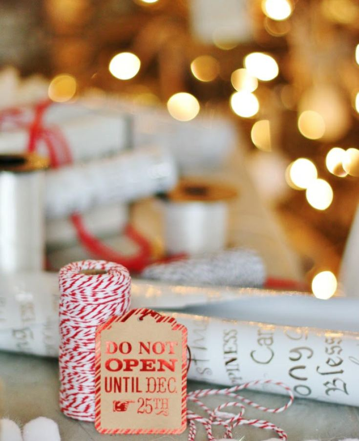 gift wrapping ideas for the holidays