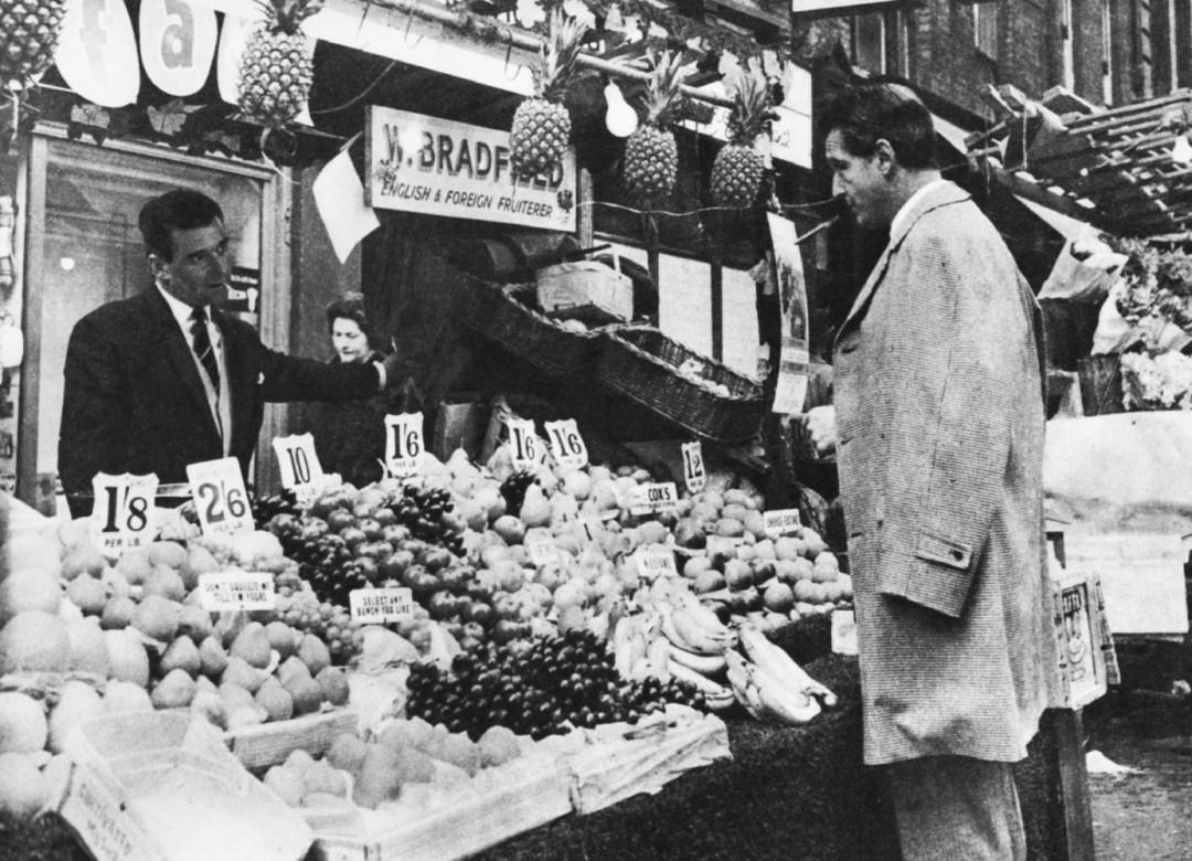 CARLOS THOMPSON visits London's oldest market - Berwick Street Market, near Piccadilly Circus