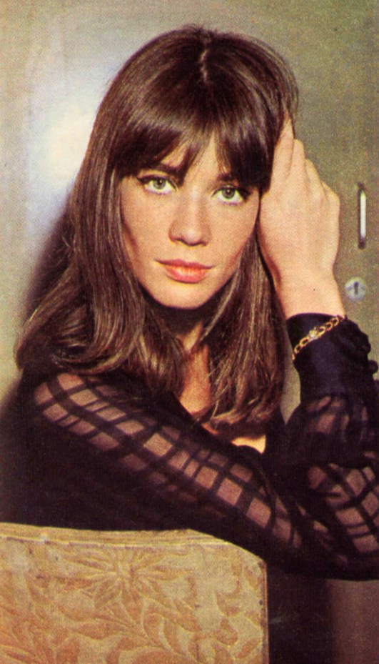 Francoise Hardy - a cool mademoiselle who sings wistful ballads and wears casually off-beat clothes. Very French and feminine... yet she also has a passion for all things mechanical. She's in Saturday's Lucky Stars Special