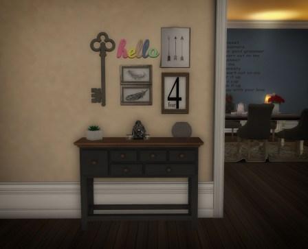 Cozy Console met kleurtjes aanpassing