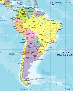 South America - places im going