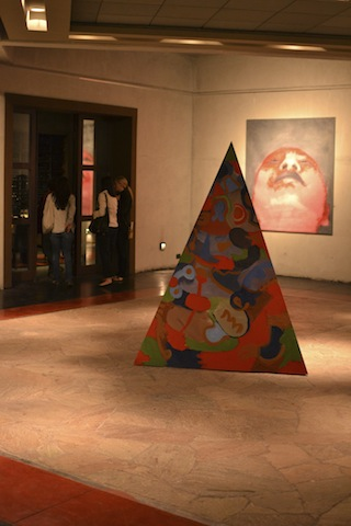 art gallery in winery