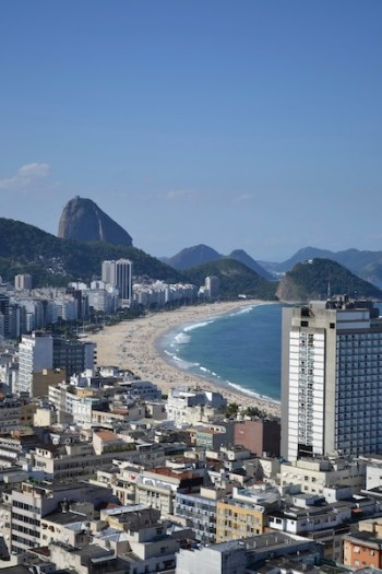 view of copacabana