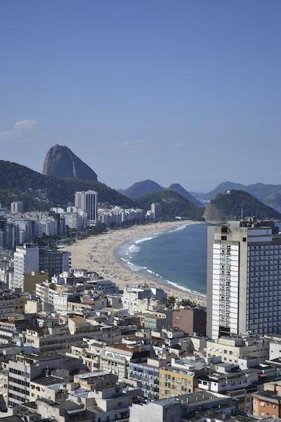 view of copacabana