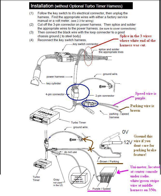 Blitz Fatt X Turbo Timer Wiring Diagram - Somurich.com