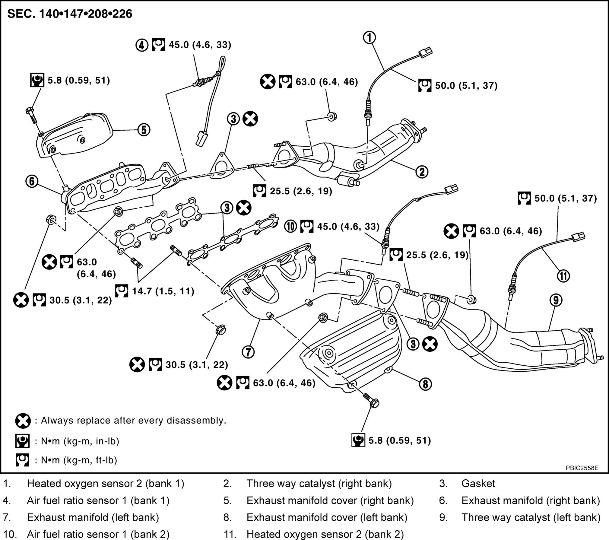 Nissan 350z Bank 1 Diagram