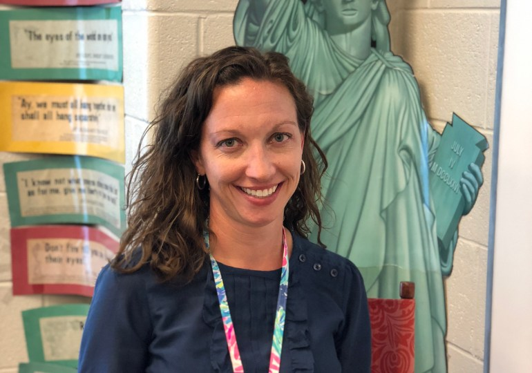 Teacher Spotlight - Rebecca Furman