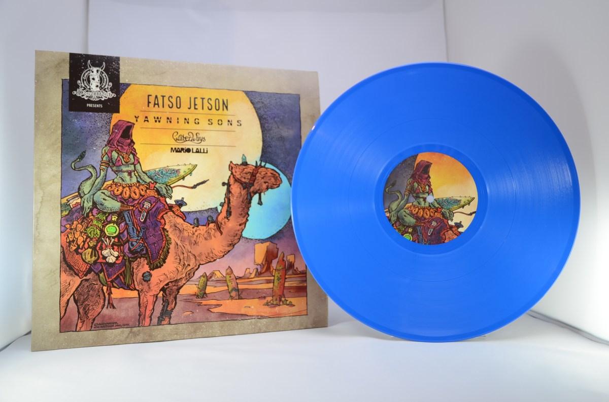 azure blue vinyl color