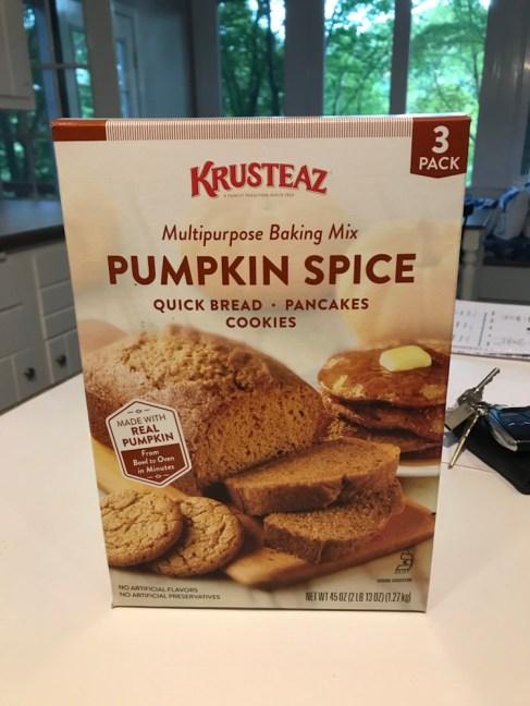 Krusteaz Pumpkin Spice Baking Mix