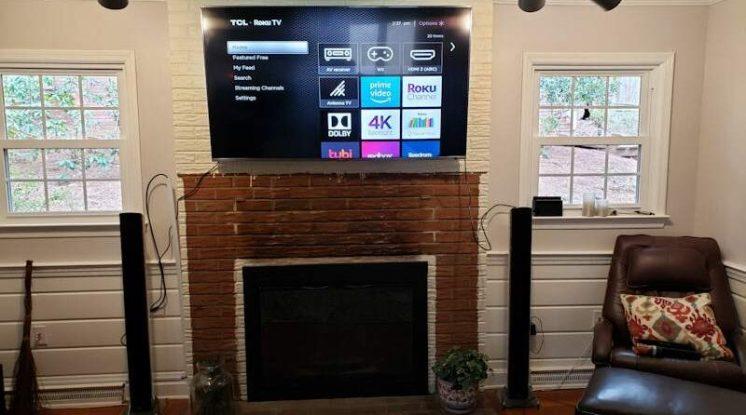Build a Stunning Modern Fireplace & Mantel 10
