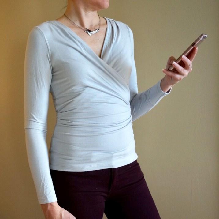 my9to5shoes.com Wrap Shirt