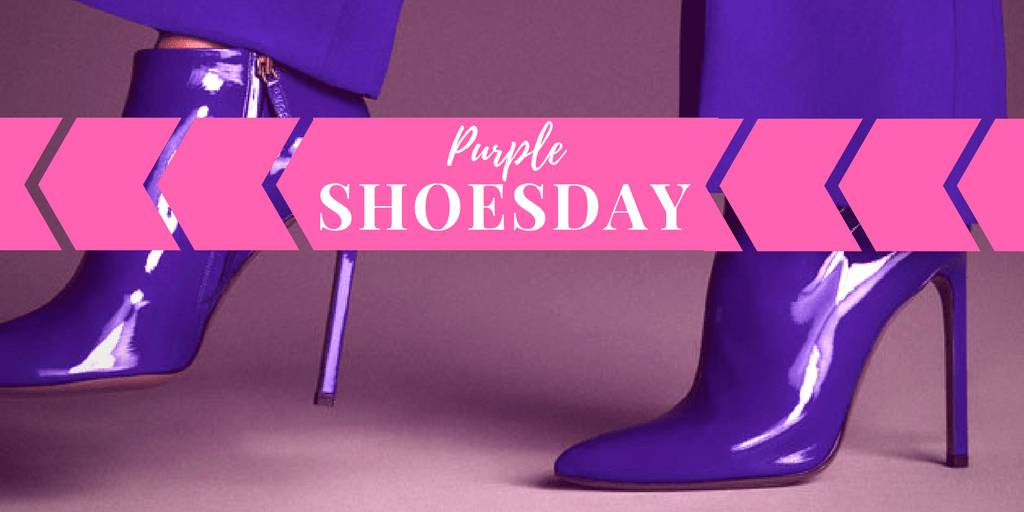 My9to5Shoes.com My 9 to 5 Shoes Purple Shoesday