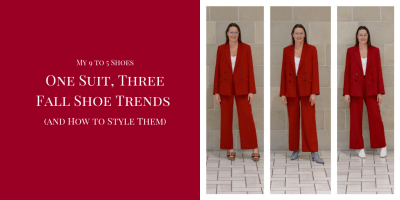 One Suit, Three Fall Shoe Trends (and How to Style Them)