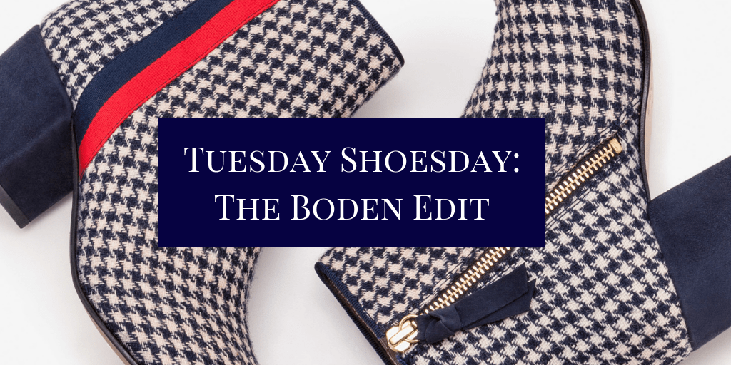 Tuesday Shoesday: The Boden Edit